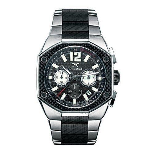 Carrera CW66441.47C011 - Reloj deportivo para hombre, color negro: Amazon.es: Relojes