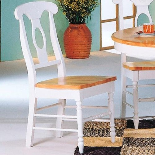 Coaster Napoleon Dining Chairs Natural