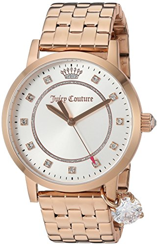 Juicy Couture Women's 'Socialite' Quartz Gold Quartz Watch(Model: 1901476)