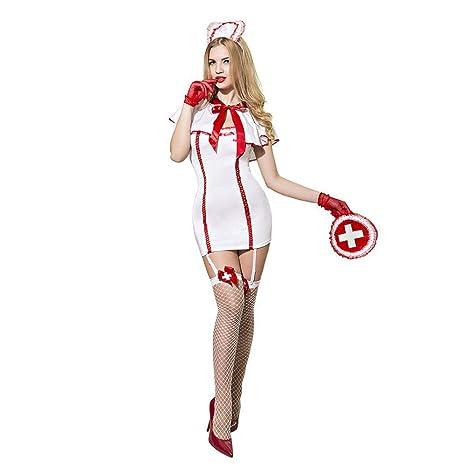 JOJO STYLE Sexy Enfermera Traje lencería Ropa Interior ...