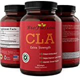 Natural CLA Safflower Supplement Pills For Weight Loss + Metabolism - All Natural Pure Conjugated Linoleic Acid Dietary Extract Potent Antioxidant Fatty Acids for Women & Men by BioFusion