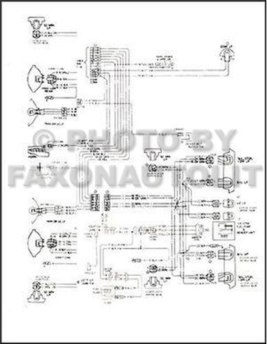1967 chevy wiring diagram reprint impala ss caprice bel air T6500 Wiring Diagram  Chevy Headlight Wiring Diagram G Body Wiring Diagram Chevy Tail Light Wiring Diagram
