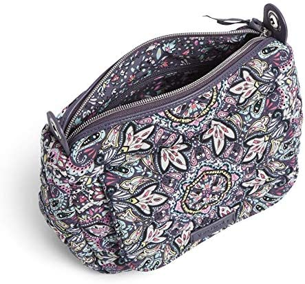 Vera Bradley Signature Cotton Carson Mini Shoulder Bag Crossbody Purse