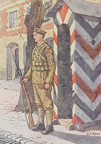 The 24th Oxfordshire and Buckinghamshire Light Infantry Soldier Poster Print by GK Rose (18 x 24) (Light Buckinghamshire)