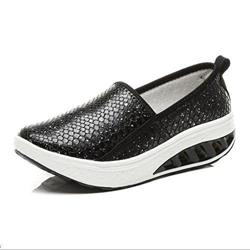 Shaking Flat Donna Autunno Un Athletic Xue E Shake Da Primavera Platform Guida Fitness Pu Shoes Loafers Scarpe Mutandine Mocassini Sneakers qEX6CwXO