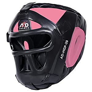 Well-Being-Matters 51zqXE-oieL._SS300_ ARD Leather Art MMA Boxing Protector Head Guard UFC Wrestling Helmet Head Gear