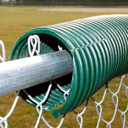 Poly-Cap Fence Guard-Green (250') (Poly Cap Fence)