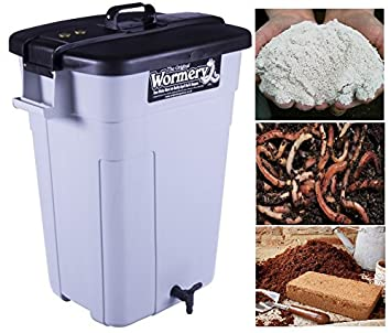 the deluxe original wormery worm composter kitchen compost bin new