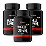 Workout Caffeine Capsules   Pre Workout Supplement   3 x 100 Capsules