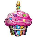 Fun and Funky Cupcake Foil Balloon, Health Care Stuffs
