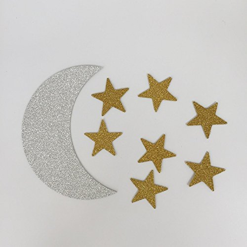 toomeecrafts-double-sided-silver-crescent-moon-and-gold-star-twinkle-twinkle-little-star-party-decor