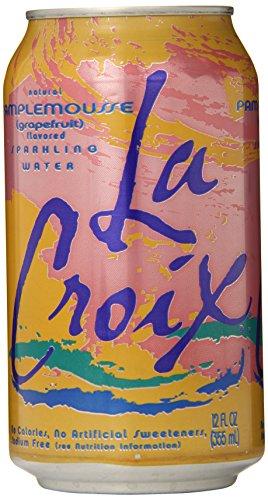 La Croix Sparkling Water, Grapefruit, 12 oz Can, 12 Count