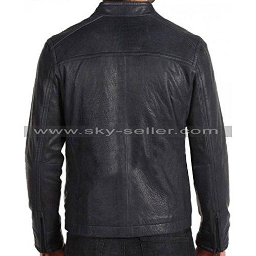 Black Biker Skyseller Uomo uk Giacca zwXxxqPEI