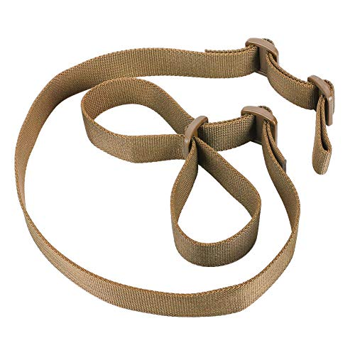 Accmor Rifle Sling Gun Sling Traditional 2 Point Sling for Outdoor Sports(Khaki)