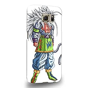 Case88 Premium Designs Dragon Ball Z GT AF Son Goku Super Saiyan Super Saiyan 4 Protective Snap-on Hard Back Case Cover for Samsung Galaxy S6