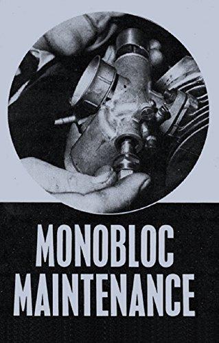Monobloc Maintenance