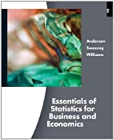 Essentials Of Stratistics For business & Economics, 6th Edition Front Cover