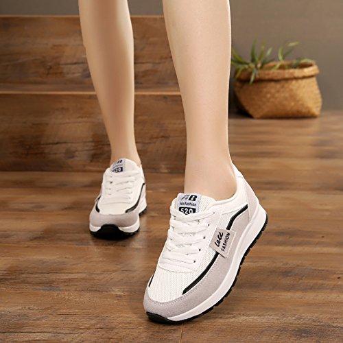 de Plano Turismo mujer Pantalón Ocio Pantalón Running Verano Zapatillas Zapatillas Jogging Baratos Deportivos GTVERNH Transpirables Mujer Zapatos Frenties Otoño y negro Zapatillas Primavera Son En T5qxnpUR