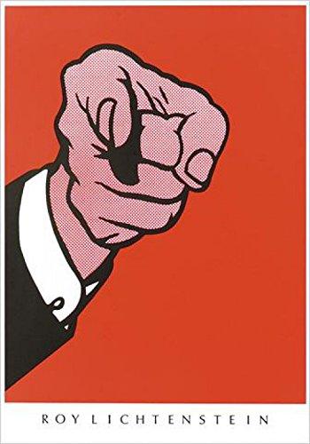 Amazon.com: Set: Roy Lichtenstein, Hey You! Poster Art Print (39x28 ...