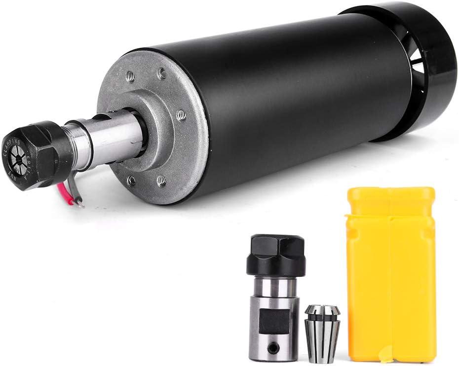 support 52 mm Craftsman168 CNC Broche 500 W refroidie par air 0,5 kW Moteur de fraisage convertisseur de vitesse de broche tige d/'extension ER11 pour gravure DIY 13 colliers ER11