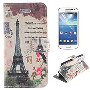 WQQ Samsung S4 Mini I9190 compatible Graphic/Special Design PU Leather Full Body Cases