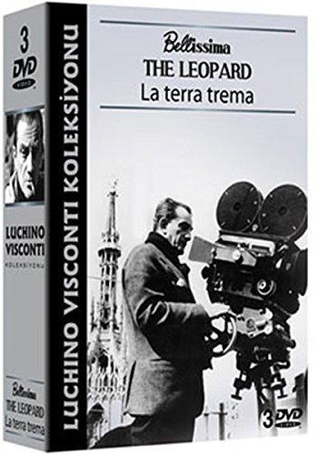 Luchino Visconti Koleksiyonu - 3 DVD Box (BELLISIMA, THE LEOPARD, La Terra Trema)