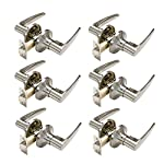 Probrico Brushed Nickel Passage Door Knobs and Handles Interior Keyless Locksets