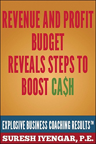 Revenue And Profit Budget Reveals Steps To Boost Cash: Revenue And Profit Budget