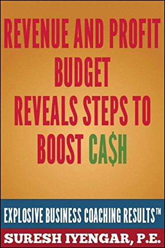 Revenue And Profit Budget Reveals Steps To Boost Cash: Revenue And Profit Budget