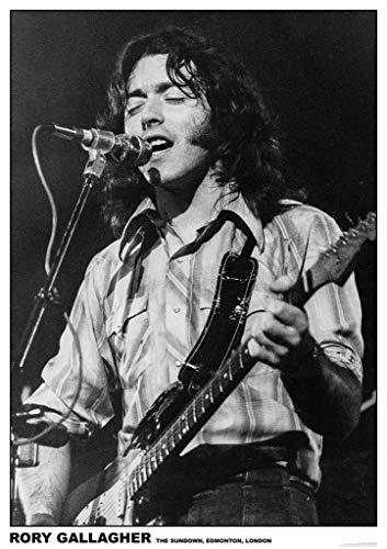 Art-I-Ficial Rory Gallagher Sundown Edmonton Music Photo Band Album Rock Music Vintage Style Poster 23.5x33 inch ()