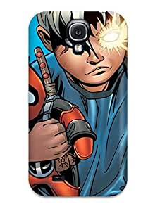 Galaxy S4 DrbuWgI9996MEcYD Cable And Deadpool Tpu Silicone Gel Case Cover. Fits Galaxy S4 wangjiang maoyi by lolosakes