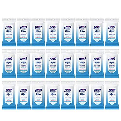 PURELL Hand Sanitizing Wipes, Clean Refreshing