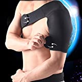 Ueasy Shoulder Brace,Single Support Strap Wrap