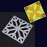 quilt fabric clearance - 2018 New Snowflake Metal Cutting Dies Stencils DIY Scrapbooking Album Paper Card by Topunder G