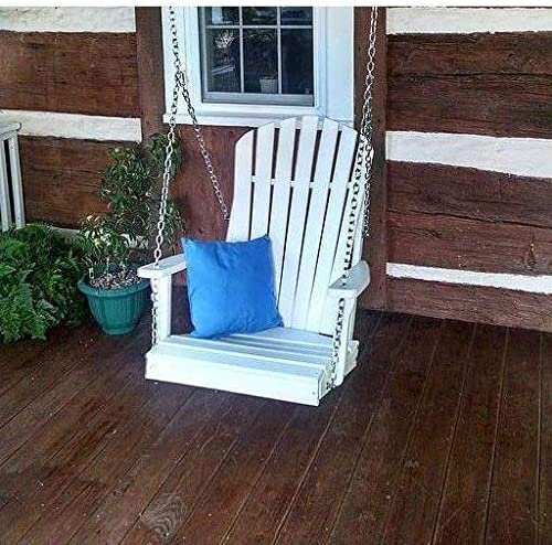 A L Furniture Co. Amish Made Poly Adirondack Chair Swing