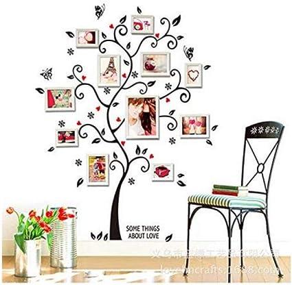 3d Stickers Photo Frame Bijpassende Muur Stickers Tv Achtergrond Muurdecoratie Stickers Happy Love 100 120cm Amazon Nl Klussen Gereedschap