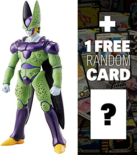 "Perfect Cell: ~9"" DragonBall Z x Megahouse Dimension of DragonBall Figure + 1 FREE Official DragonBall Bundle"