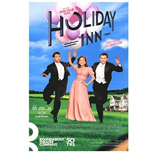 Holiday Inn Official Broadway Theatre Poster