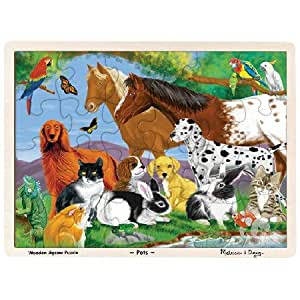 Amazon.com: Pets Jigsaw Puzzle 24pc: Toys & Games