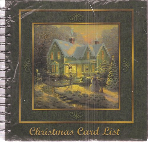 For Home Kinkade Thomas Christmas (Christmas Card List: Blessings of Christmas (No. 4501))