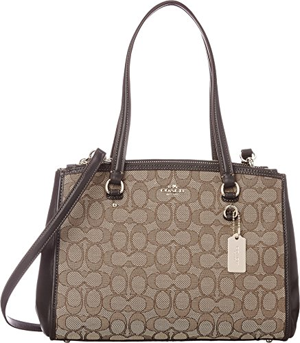 COACH Women's Signature Stanton 29 Carryall Li/Khaki/Brown One Size by Coach