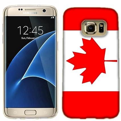 buy online 02672 0e3cd Samsung Galaxy S7 EDGE Case, Canada Flag Cover for Samsung Galaxy S7 ...