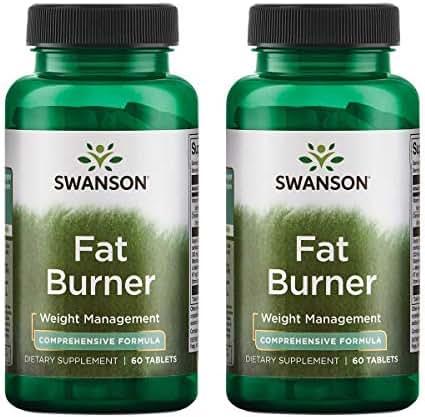 Swanson Fat Burner 60 Tabs (2 Pack)