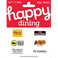 Deals on $50 Happy Dining Gift Card