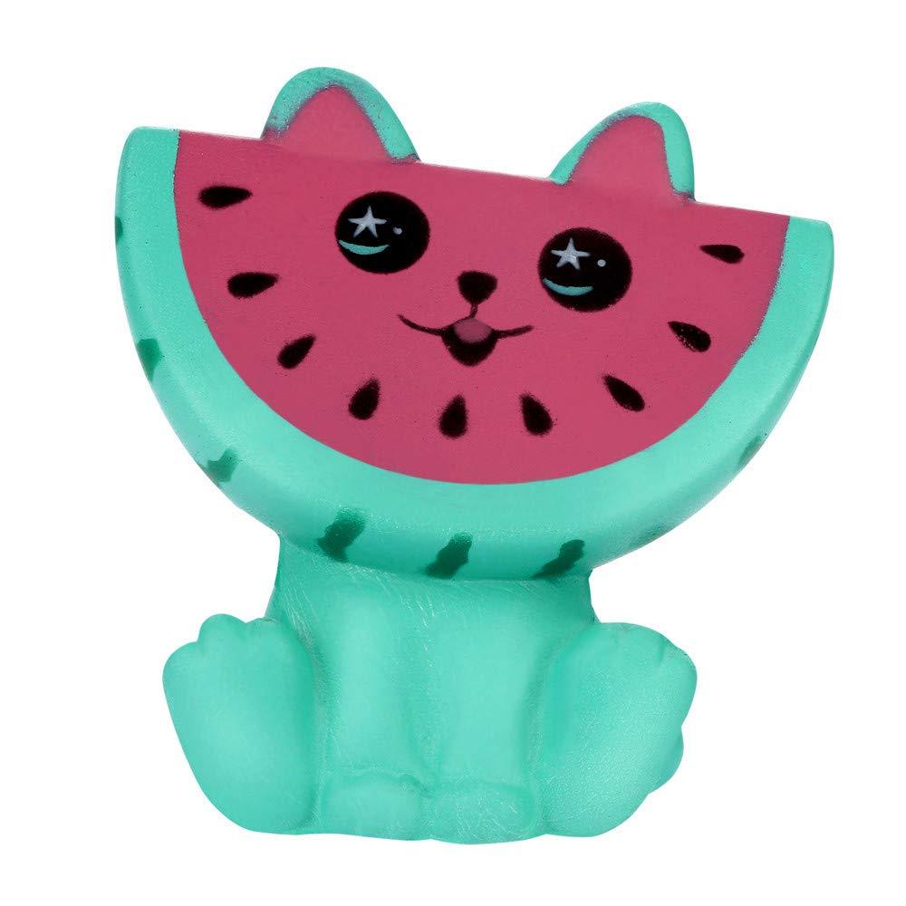 Bescita Watermelon Duftende Squishy Spielzeug Charme Langsam Steigenden Stressabbau Spielzeug Big (11x9, 5cm)