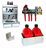 Posse PP3303 Trailer Starter Kit 2 Work Station Tie Down Hanger Fuel Jug Rack