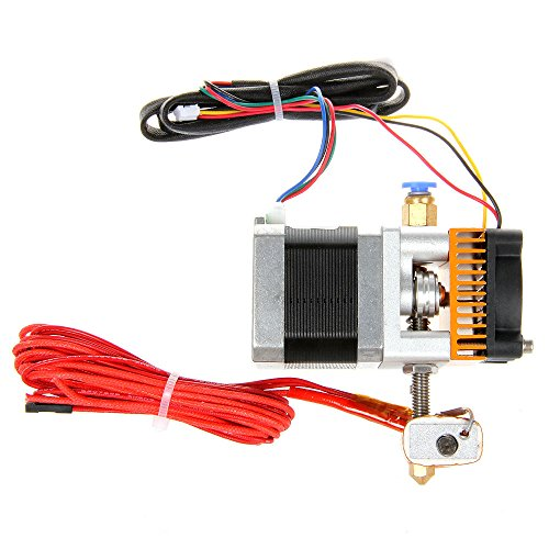 MK8 Extruder 0.4mm Nozzle cabezal de impresión for 3d printer MakerBot Prusa I3 from Aigh Auality shop