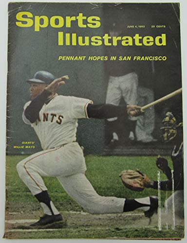 1962 Sports Illustrated Magazine with Willie Mays Giants on Cover 144458 1962 Sports Illustrated Magazine