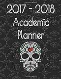 2017-2018 Academic Planner - Sugar Skull (Kool Kids Planner) (Volume 1)