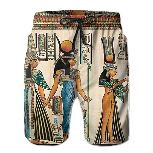 Feimao Egyptian Drawings Valpapur Mural Men's Beach for sale  Delivered anywhere in Canada
